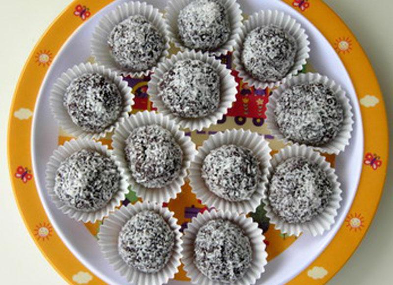 postres con chocolate para hacer con niños
