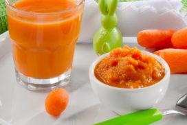 pure de pastanaga