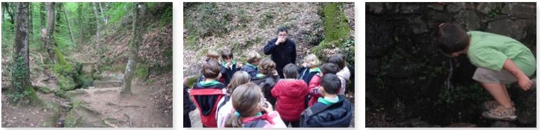 excursión con niños en Viladrau