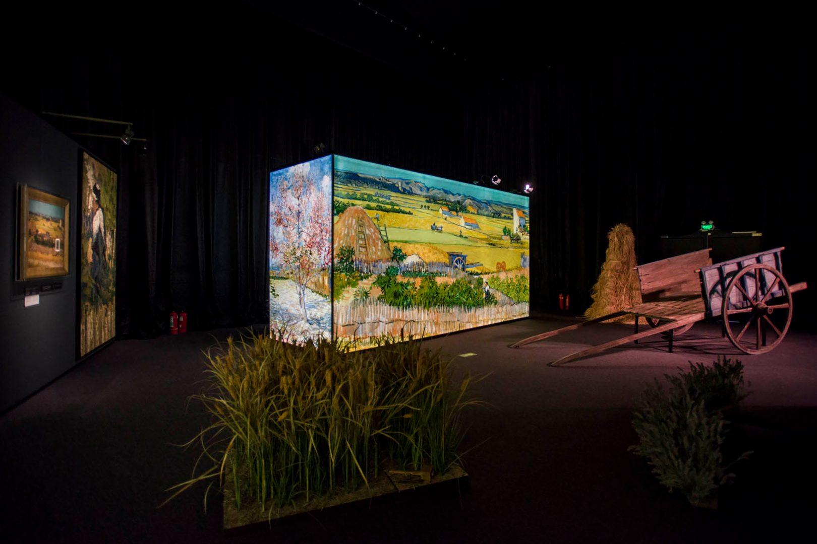 Exposición sobre Van Gogh en Barcelona