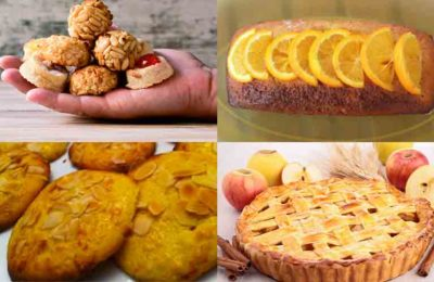 postres con productos de otoño