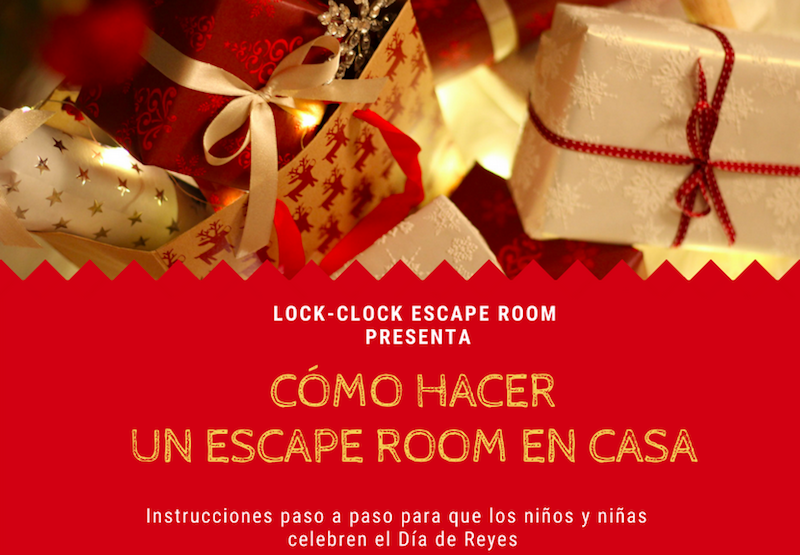 ESCAPE ROOM A CASA EL DIA DE REIS