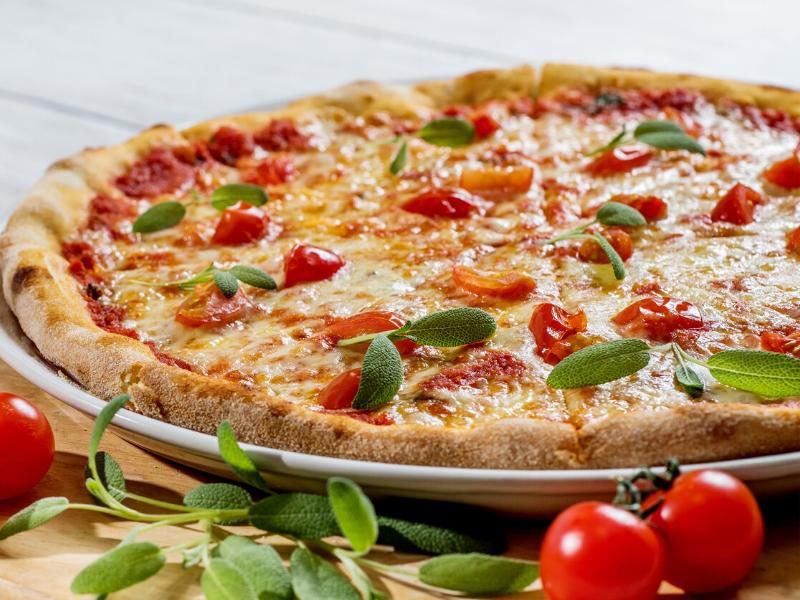 hacer la masa de la pizza