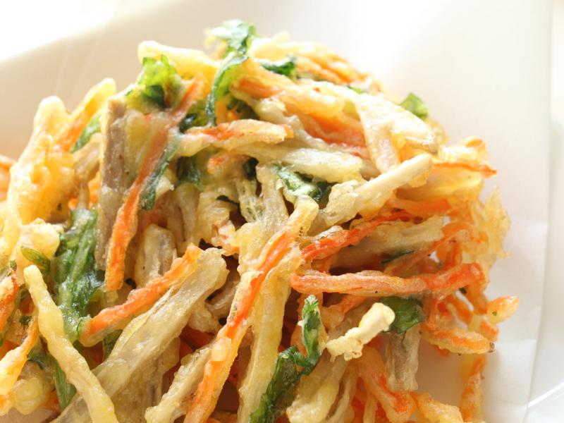 tempura de verdures