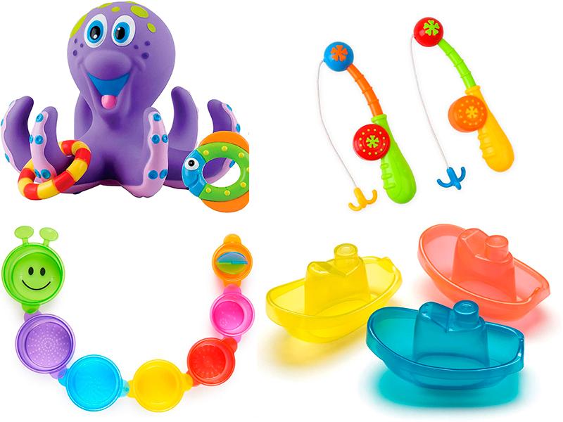 jugar a la banyera amb nadons