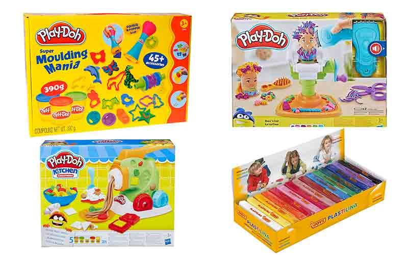 plastilina per jugar amb nens i nenes