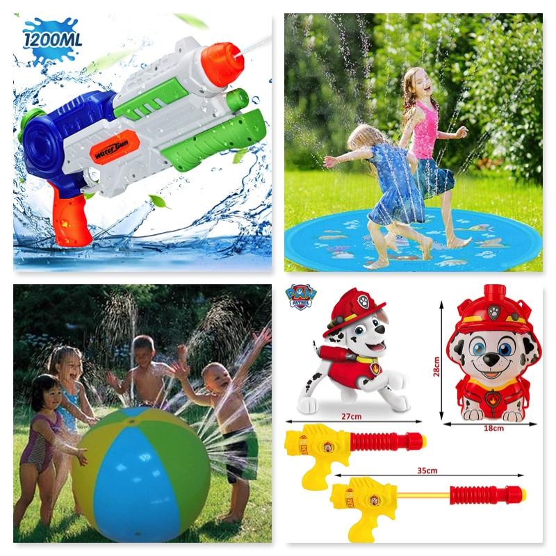 Jocs d'aigua per a infants