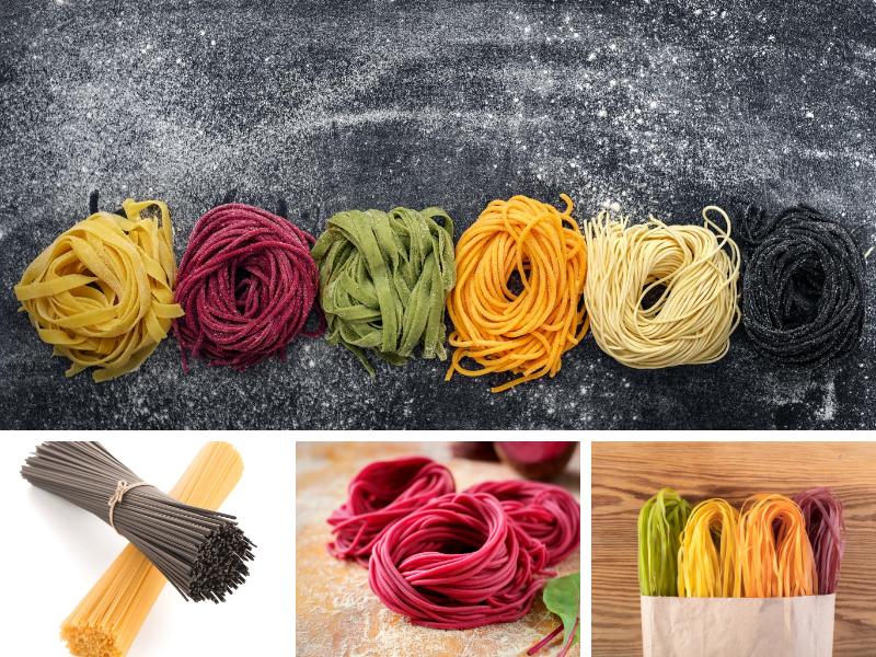 dar color a la pasta