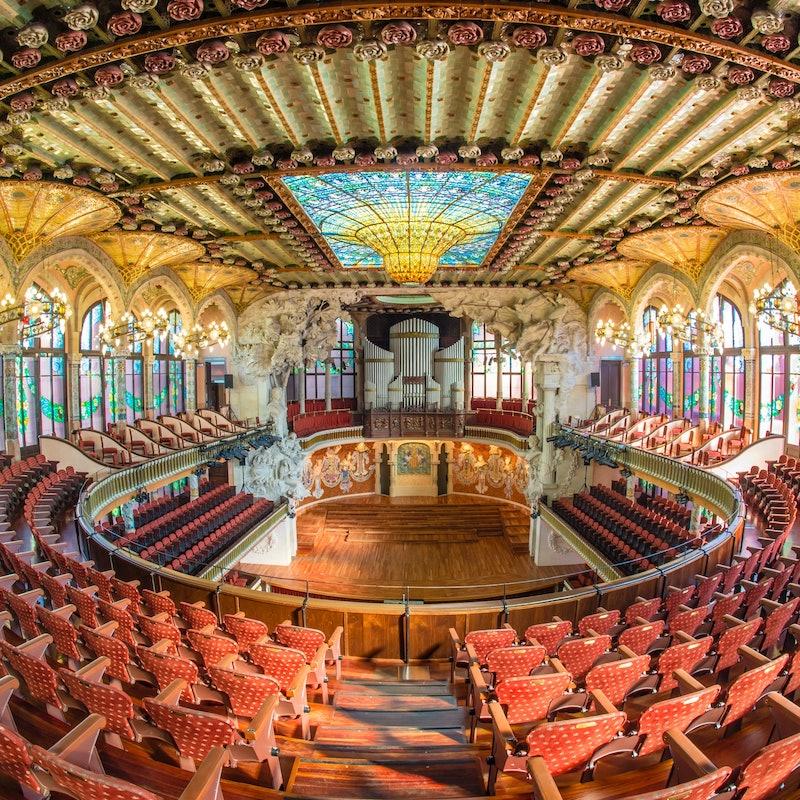 visita guiada al Palau de la Música Catalana