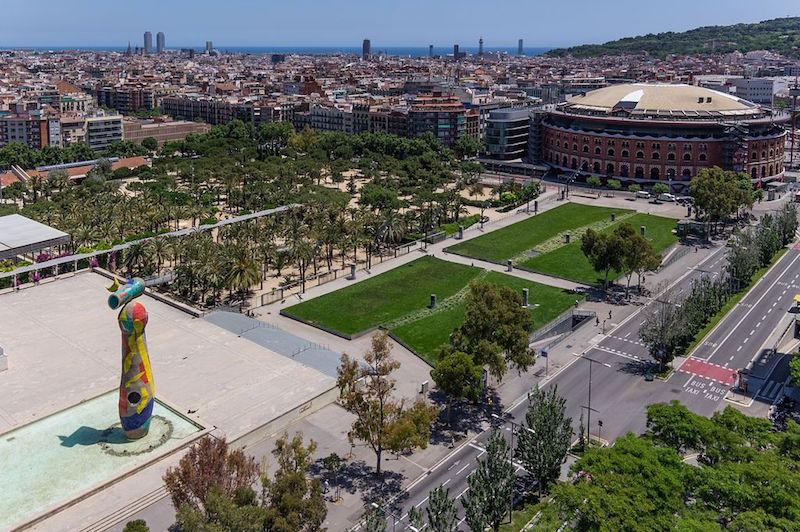 parcs infantils a barcelona