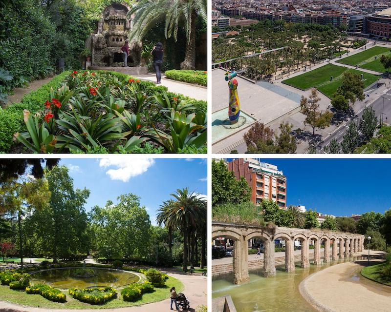 parques infantiles en barcelona