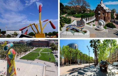 Esculturas curiosas en Barcelona