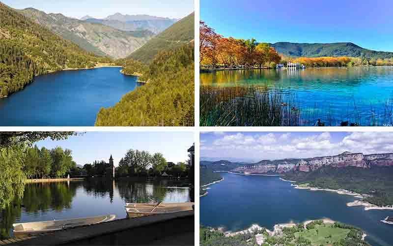 lagos y pantanos para ir de ruta con niños