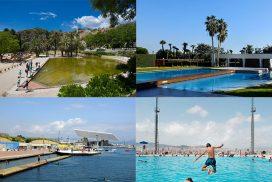 piscinas en Barcelona