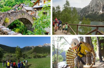 amb nens al Pallars Sobirà